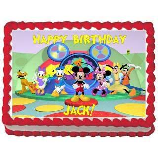 Mickey Mouse Clubhouse Photo Cake Winni