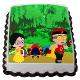 Buy Mighty Raju friends Photo Cake