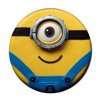 Minion One eyed Fondant cake