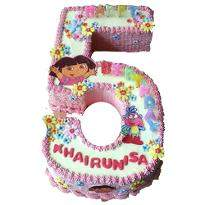 Number Dora Cake