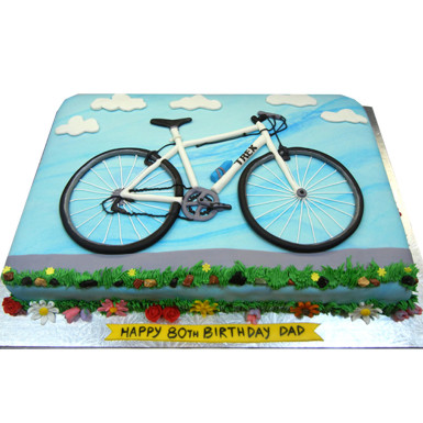 Buy Cycle Fondant Cake