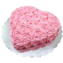 Strawberry Rose Cake