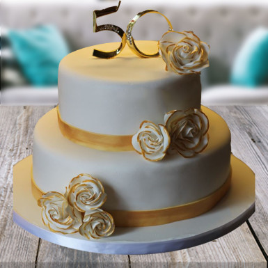 buy Golden Jubilee Cake