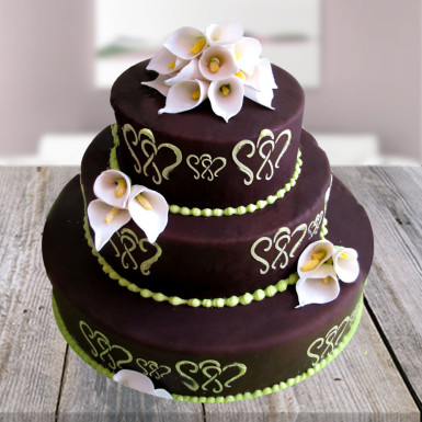 Beautiful Chocolate Mountain Cake Winni
