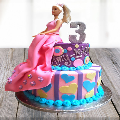 Buy Barbie Beauty Cake