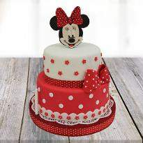Minnie Mouse Cartoon Cake