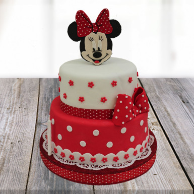 Minnie Mouse Cartoon Cake Winniin