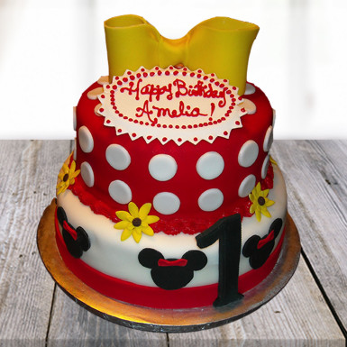 Buy Minnie Mouse Birthday Cake