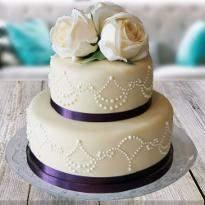Heartfelt Rosy Delight Cake