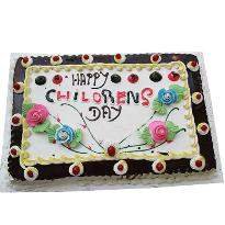 Children Day Flower Cake