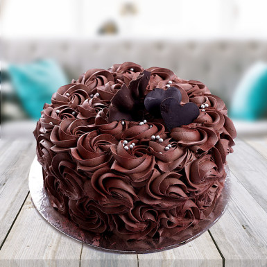 Buy Chocolate Rose  Cake