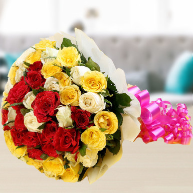 Buy Magical Sunny Mixed Roses