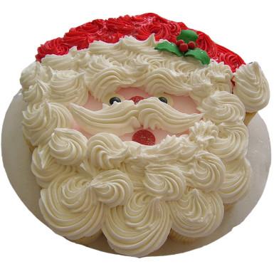 Buy Fluffy Santa Claus Cream Cake