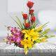 Buy Happy Note  A bunch of Mixed Variety n Color of Flowers
