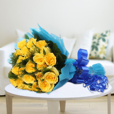 buy Magic Yellow Roses Bunch