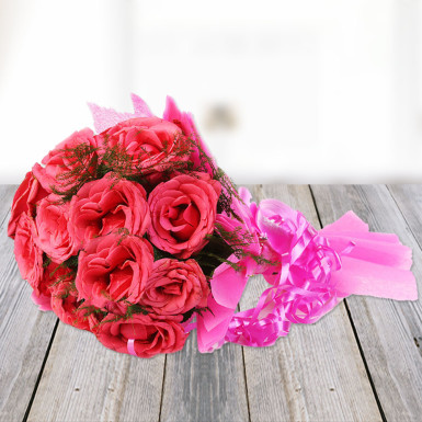 buy Hearty Wishes  A bunch of Pink Roses