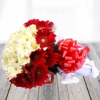 Best Wishes Mix Gerbera Flowers