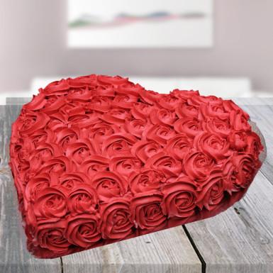 Buy Black forest rose cake