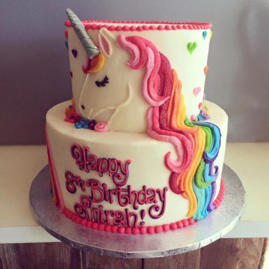 Buy Unicorn 2 tier cake