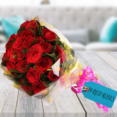 buy Big Love Red Roses Bunch