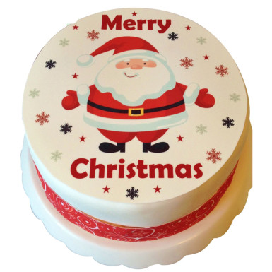 buy Merry Christmas photo cake