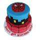 Buy Spider man fondant cake