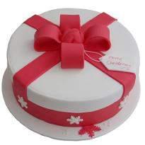 Merry Christmas Gift Cake