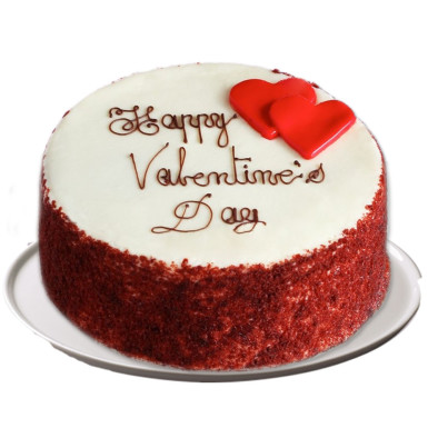 Buy Lovely Red Velvet Cake