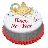 Happy New Year Cake