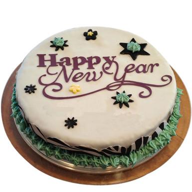 buy New Year Strawberry Cake