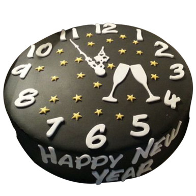 Buy New Year Chocolate Cake