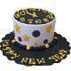 Buy Midnight Striking New Year Choco Vanilla Cake