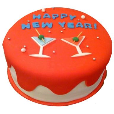 Buy Cheers New Year Cake