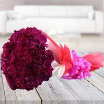 Carnations of happiness