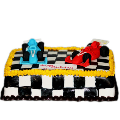 Buy Ferrari Car Cake