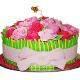 Buy Vanilla Flavor Rose Cake