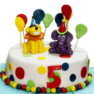 Buy Lion and Elephant Cake