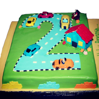 buy Racing Car Cake