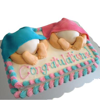 Buy Twins baby cake
