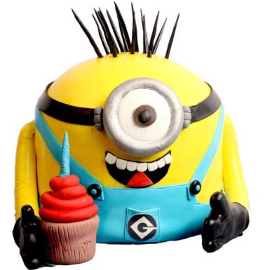 buy Happy Minion Cake