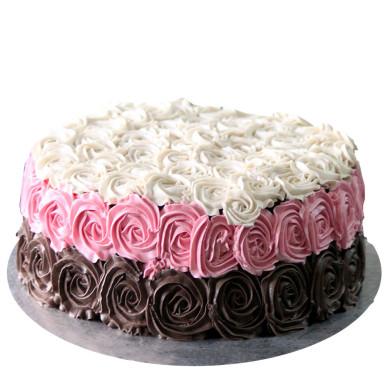 Buy Serene Rose cake