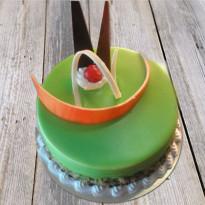 Soothing Kiwi Cake