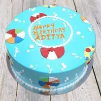 Lovely Balls cake