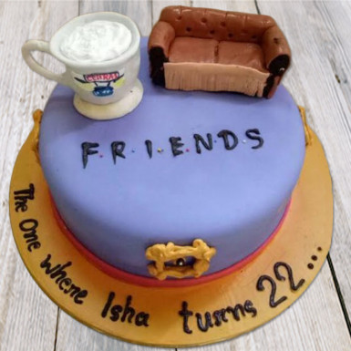 Buy Friends cake