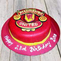 Manchester United Red cake