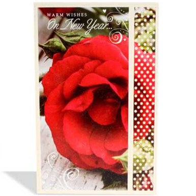 Buy Small New Year Greeting Card