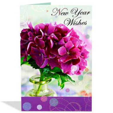 Buy Large New Year Greeting Card