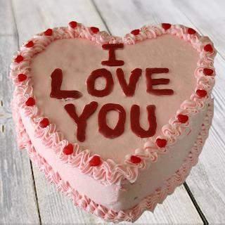 Vanilla Love You Cake Winni