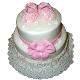 Tricolor Vanilla Cake