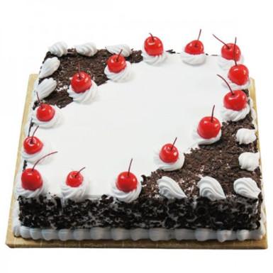 buy Black forest square shape cake